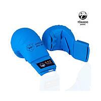 Перчатки с защитой большого пальца TOKAIDO WKF Approved Gloves (Синие)
