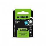 Батарейка Videx A27 \ 8LR732 (12V) 1pcs blister, фото 2