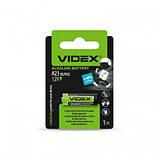 Батарейка Videx A23 \ E23A \ 8LR932 (12V) 1pcs blister, фото 2