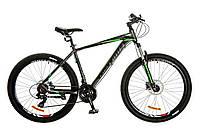 "Велосипед 29"" Optimabikes F-1 AM 14G HDD рама-21"" Al серо-зеленый (м) 2017"