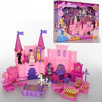 Замок SG-2970  принцессы,муз,свет,мебель,карета,фигурки
