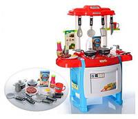 Детская кухня WD-18B, кухня с набором посуды, игрушечные кухни, игра в повара