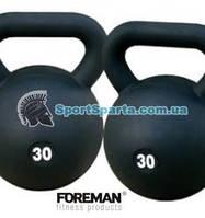 Гиря в уретане FOREMAN Urethane Kettlebell 16 кг