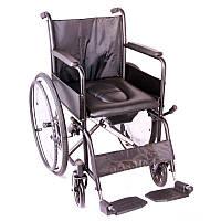 Инвалидная коляска OSD Economy с санитарным оснащением
