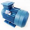Электродвигатель 4 кВт 1400 об/мин 380 В, Eurotec AT 130 трехфазный электродвигатель переменного тока 1500 об, фото 4
