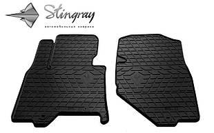 INFINITI QX50 2013- Комплект из 2-х ковриков Черный в салон
