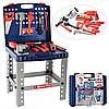 Іграшковий набір інструментів у валізі 008-21, верстат, дриль на батарейках, ключі та ін, дитячі майстерні