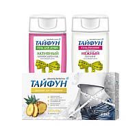 Набор для похудения Тайфун №3 (Чай Ананас+Гель+Гель)