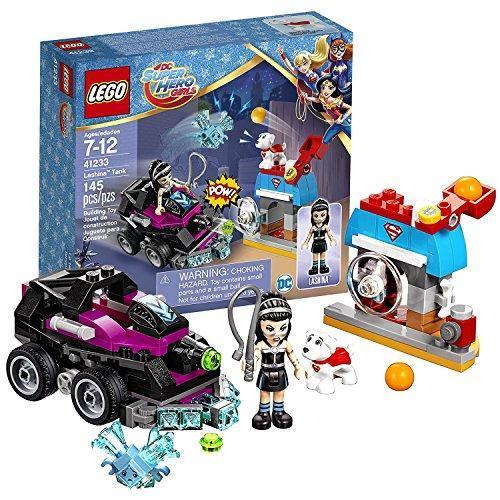 Конструктор LEGO DC Super Hero Girls Танк Лашины 145 деталей