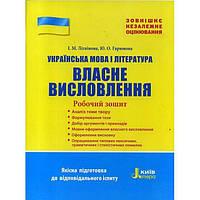 ЗНО-2018: Українська мова і література. Власне висловлювання.
