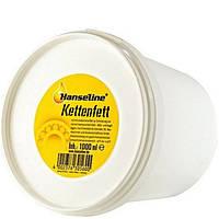 Смазка для цепи и планетарных втулок консистентная Hanseline Kettenfett 250 мл