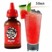 PUFF 50мл Арбузный Поцелуй / Watermelon Kiss  - Жидкость для электронных сигарет (Заправка)