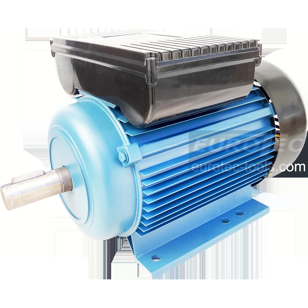 Асинхронный электродвигатель 1400 об. 1.5 кВт 220В Eurotec AT127 однофазный двигатель переменного тока 1500 об
