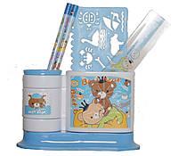Набор канцтоваров Evo-kids EVO-2403001 (Синий)
