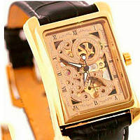 Winner Мужские часы Winner Square Gold, фото 1