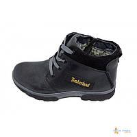 Ботинки зимние на меху подростковые Fleet Stael 187 Black