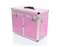 Профессиональный кейс для косметики S-Big Pink
