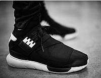 Y-3 Qasa High Black/White (топ реплика)