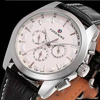 Forsining Мужские часы Forsining Walker Silver, фото 1