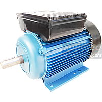 Асинхронный электродвигатель 2800 об. 2.2 кВт 220В Eurotec AT122 однофазный двигатель переменного тока 3000 об, фото 1