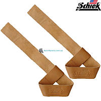 Кожаные кистевые ремни SCHIEK LeatherLiftingStraps 1000LLS пара