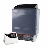 Электрокаменка Amazon AM90MI 9 кВт с выносным пультом CON4 (краш. металл)