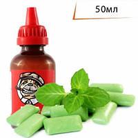 PUFF 50мл Мятная жвачка / Minty Gum  - Жидкость для электронных сигарет (Заправка)