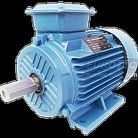 Асинхронный электродвигатель 2800 об. 3 кВт 380 В Eurotec AT 124 трехфазный двигатель переменного тока 3000 об, фото 1