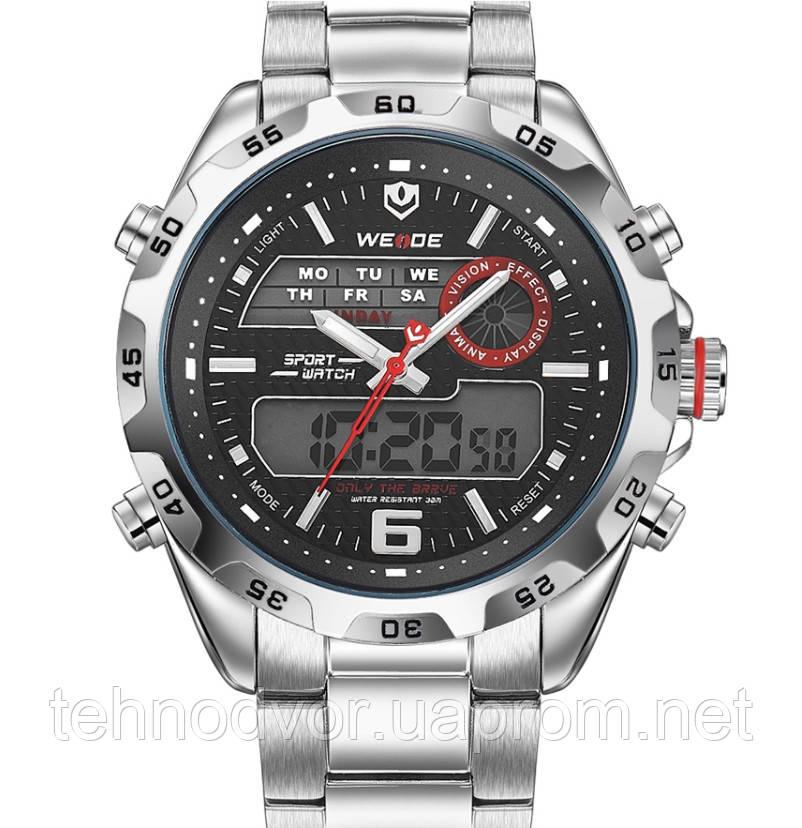 Weide Мужские часы Weide Respect Silver, фото 1