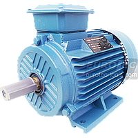 Асинхронный электродвигатель 2800 об. 4 кВт 380 В Eurotec AT 129 трехфазный двигатель переменного тока 3000 об, фото 1