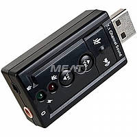 Звуковая плата Dynamode C-Media USB 8 3D RTL (USB-SOUND7)