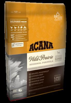 Acana (Акана) Wild Prairie Dog беззерновой корм для собак всех возрастов, с цыпленком, 11.4 кг