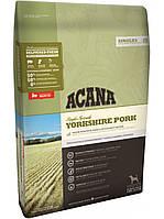 Acana (Акана) Yorkshire Pork гипоаллергенный корм с мясом свинины, 11.4 кг