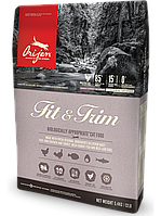 Orijen (Ориджен) Fit & Trim биологический корм для кошек с лишним весом, 5.4 кг