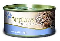 Applaws (Эплоус)  Cat Ocean Fish tins консервы с океанической рыбой