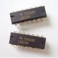 LM324N, ОУ общего применения DIP14