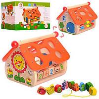 Деревянная игрушка-сортер Bambi MD 1087