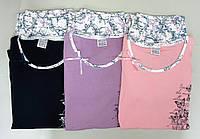 Пижама женская с узором - Интерлок - 96071