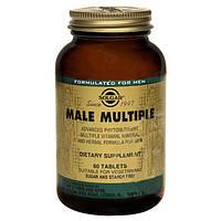 Комплекс вітамінів Солгар для чоловіків Male Multiple таблетки №60