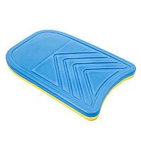 Доска для плавания фигурная EVA рр:42*29*3,5см. В1009-1