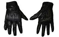 Мотоперчатки кожаные FOX MS-369-BK