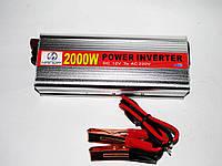 Инвертор преобразователь напряжения Power Inverter 2000W 12V в 220V, фото 4