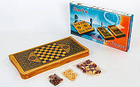Набор шахмат и нард BAKU B4825
