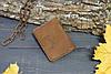 Чехол для авто-документов с прозрачными отделениями 282028 - коричневый