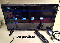 LED Телевизор Samsung 24 дюйма Т2 HDTV  12вольт/ 220в.