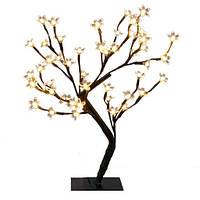 Новогоднее светодиодное дерево 82 LED  цветущая сакура.60 см.