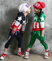 Стильный трикотажный костюм для мальчика или девочки 2-3 года, фото 1