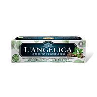 Зубная паста Лакрица и мята Langelica 75 мл