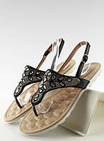 Черные женские сандалии Pejdzh 40,38,36, фото 1