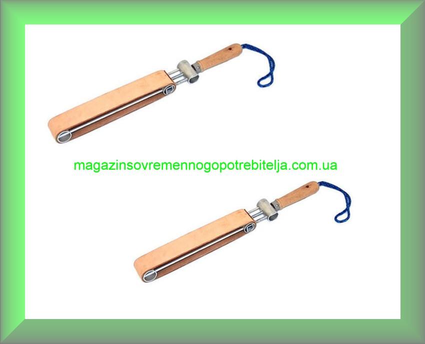 Кожаный специальный ремень для заточки ножей (Германия)